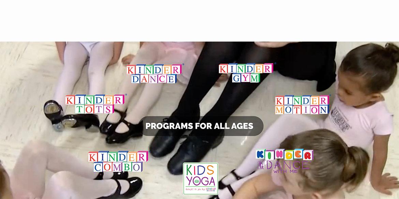 dance children with teacher